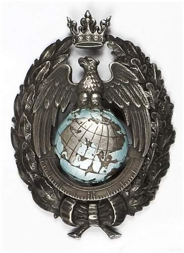 Click image for larger version.  Name:Oficera Szkola Topografow przy Wojskowym Instytucja Geograficznym 15000 open bid DESA April 2012.jpg Views:123 Size:91.3 KB ID:335007
