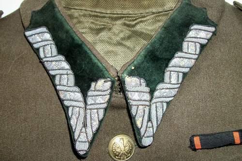 Wz.35 Polish Officer's Tunic - 100% original pre-war ?
