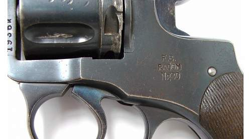 Click image for larger version.  Name:F.B.Radom NG 30 revolver left side close up 2495 USD.jpg Views:279 Size:86.6 KB ID:348981