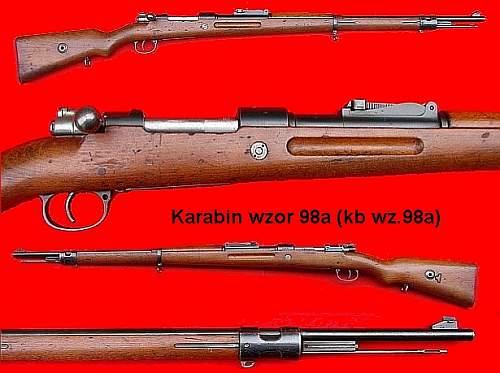 Click image for larger version.  Name:Karabin wzor 98a (Kb wz.98a) War Relics.jpg Views:579 Size:167.3 KB ID:350015