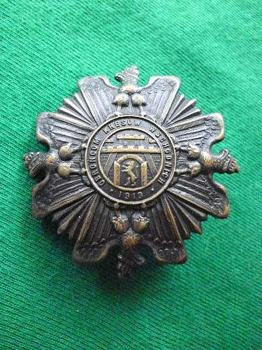 Click image for larger version.  Name:Defenders of the Eastern Borderlands badge front.jpg Views:93 Size:268.1 KB ID:351842