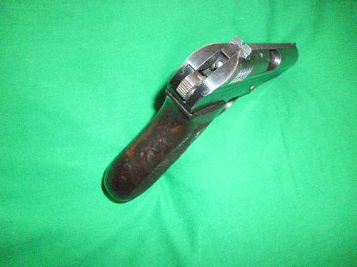 Click image for larger version.  Name:Vz.24 hammer cocked with firing pin showing .jpg Views:608 Size:252.7 KB ID:352275