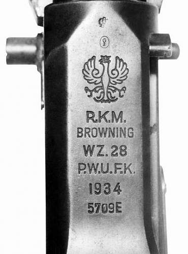 Click image for larger version.  Name:Markings on receiver rkm Wz.28 Polish production of 1934..jpg Views:276 Size:24.9 KB ID:355002