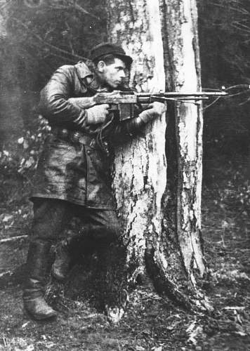 Click image for larger version.  Name:Polish partisan with wz.28 automatic rifle.jpg Views:408 Size:115.7 KB ID:355005