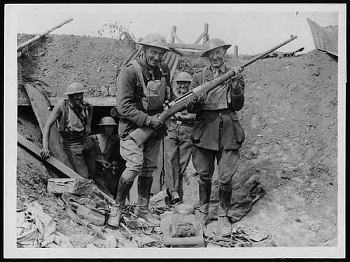 Click image for larger version.  Name:Mauser Gewehr T WW1 anti tank rifle.jpg Views:232 Size:51.1 KB ID:358259