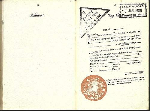 Escaping Poland 1939: fake Polish passport ?