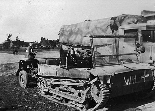 Polish C2P Artillery Tractor