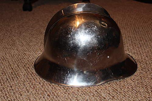 Polish Firefighter wz.35 Helmet