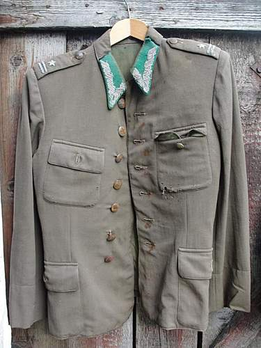 Wz.36 Polish Army Officer's Tunic and Greatcoat, 100% original pre-war ?