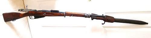 Name:  wz.71-98 bayonet on  wz.91 98 25 rifle.JPG Views: 1743 Size:  6.6 KB
