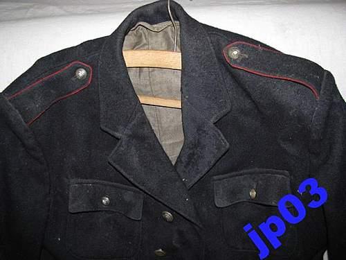 Polish Fireman's Tunic - 100% original pre-war ?