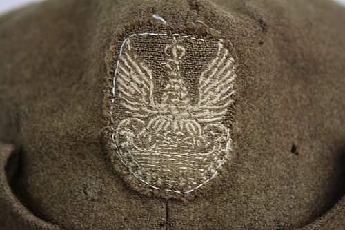 Wz.37 Rogatywka polowa (Polish Field Cap), 100% original pre-war ?