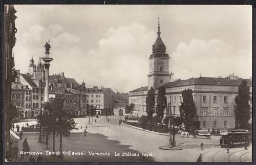 Click image for larger version.  Name:Le Chateau Royal Varsovie 1920.jpg Views:126 Size:106.0 KB ID:401210