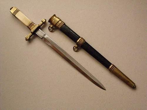 Polish dress dagger pre ww2 called kordziki