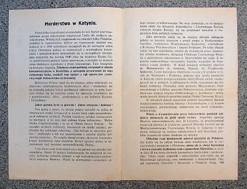 The Katyn Forest Massacre