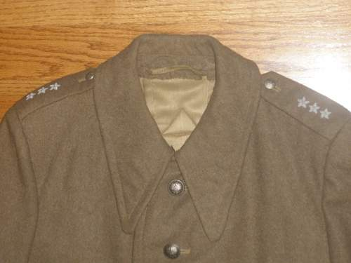 Wz.36 Polish Infantry Officer Tunic and Greatcoat - 100% original pre-war ?