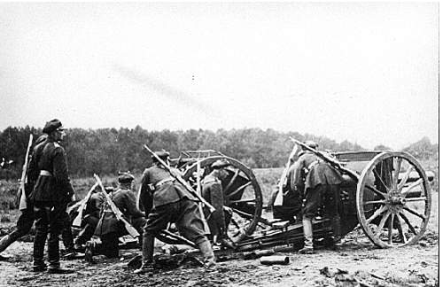 Click image for larger version.  Name:7 Horse Artillery Battalion. Soldiers with wz.91 98 25..jpg Views:359 Size:90.3 KB ID:417476