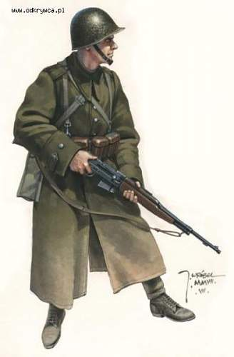 Click image for larger version.  Name:Polish soldier with wz.38m semi auto rifle.jpg Views:4675 Size:21.7 KB ID:419241