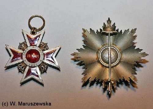 Mystery medal