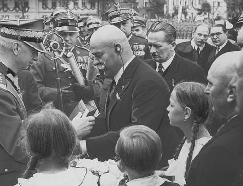 Click image for larger version.  Name:July 1938 Gen Sosnkowski receiving the Honourary citizenship of Nowy Tomyslu.jpg Views:187 Size:89.1 KB ID:423174