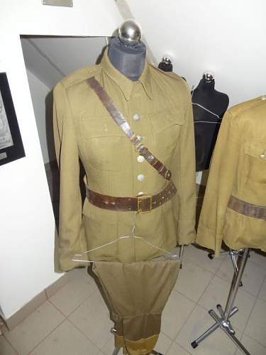Wz.36 Polish officer's tunic and summer tunic - 100% original pre-war ?