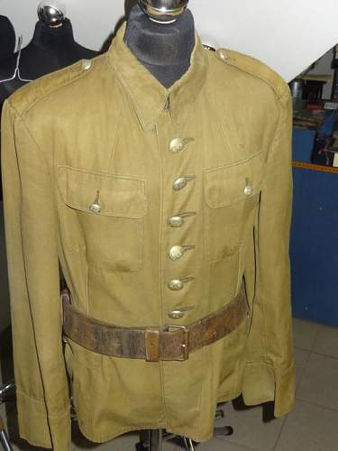 Wz.36 Polish officer's tunic and summer tunic - 100% original pre-war ?