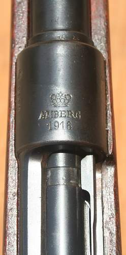 Click image for larger version.  Name:Amberg Gew 98 in Polish service.jpg Views:226 Size:220.6 KB ID:441107