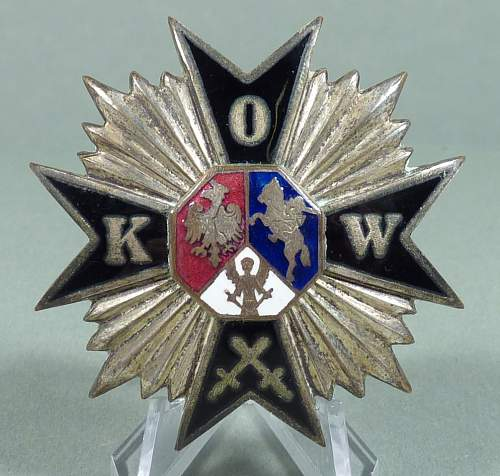 Polish Pre war badge?