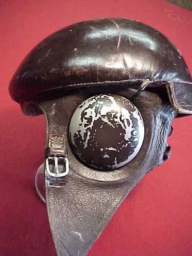 Wz.38 Polish Airforce (Siły Powietrzne) Flying Helmet, 100% original pre-war ?