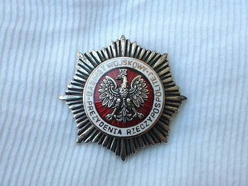 Two Polish badges for opinion