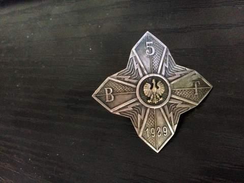 Mystery Polish Badge