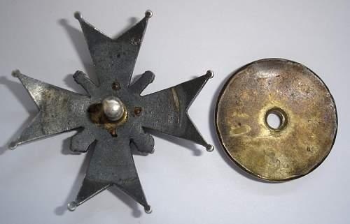 21. Gorski Artillery badge