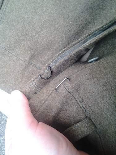 Polish pants?