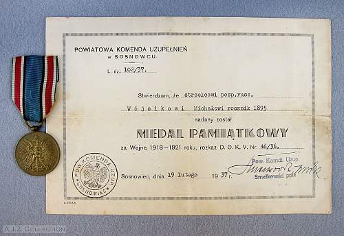 Click image for larger version.  Name:Comm Medal for War 1918-21 e.jpg Views:580 Size:171.9 KB ID:545802