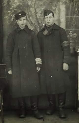 Polish Forced Labour Uniform