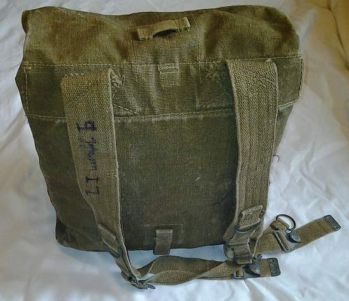 Polish pre war backpack