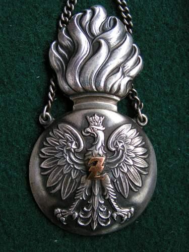 Znak  Żandarmerii (military police badge)