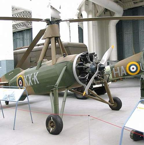 Click image for larger version.  Name:Avro Rota I HM580 KX x former G ACUU on display at Duxford.jpg Views:116 Size:99.0 KB ID:580615