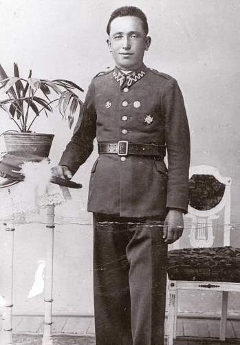 Uniform identification.