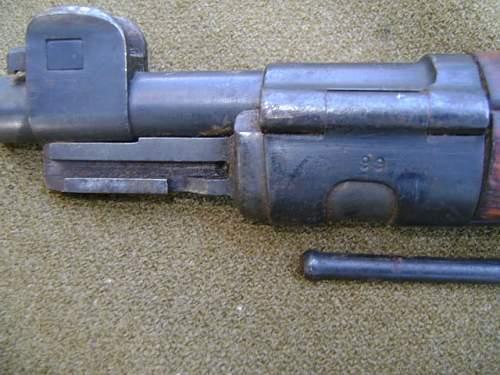 1930 P.F.K Warszawa K98 Rifle