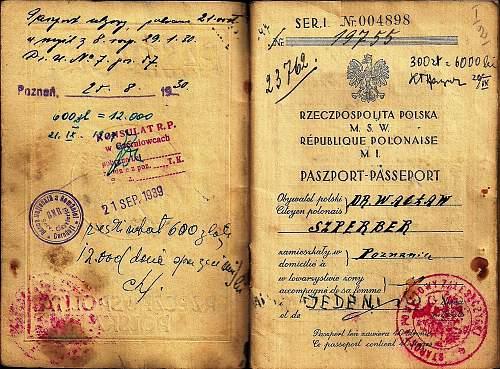looking for info' on Waclaw Szperber