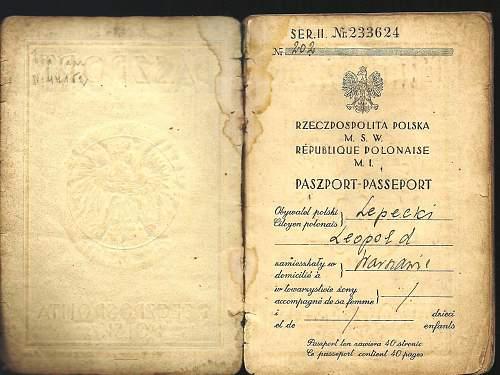 Relation to famed Mieczyslaw Lepecki?