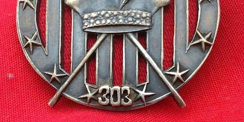 Polish badge 303