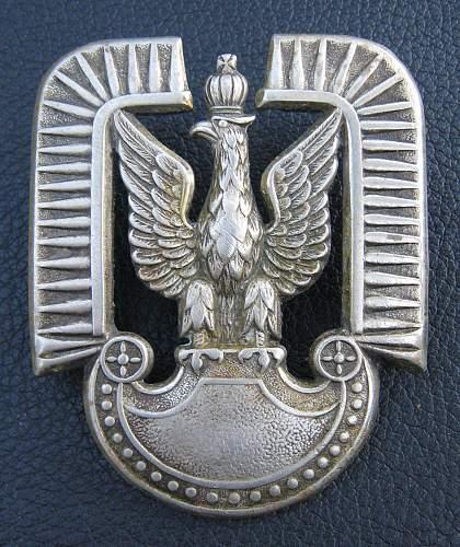 Polish Pre-39 Cap Eagle