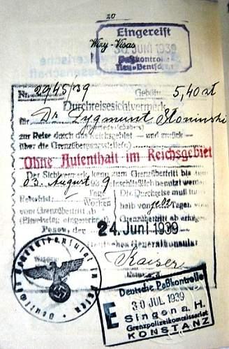 Passport 1939-Katyn victim