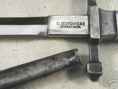 wz.24/37 Polish Officer's Dagger