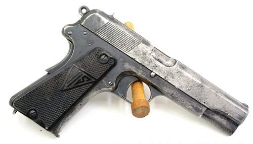 An interesting 1937 dated FB Radom Vis Pistol