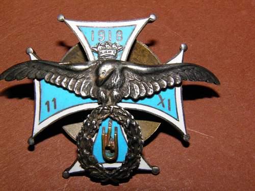 Polish Lancers badge ..real or a copy ???
