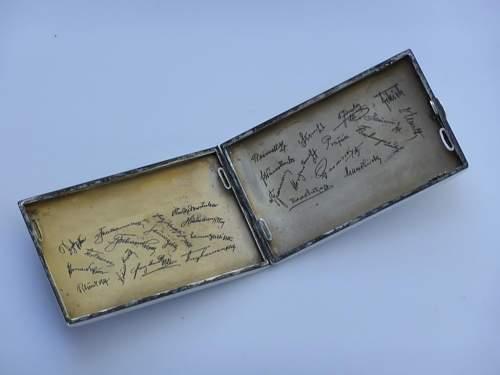 WW1 Cigarette Case with Polish Battles