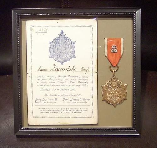 """""""Star of Przemyśl"""" 1918-1919"""